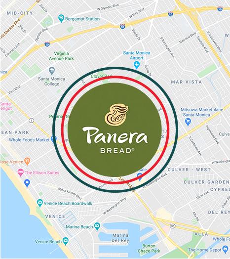 Map panera